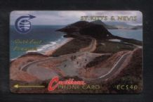 Phonecard Telephone card D13 St Kitts #258